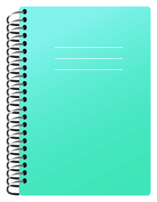 Report clipart notebook. School png picture schooly