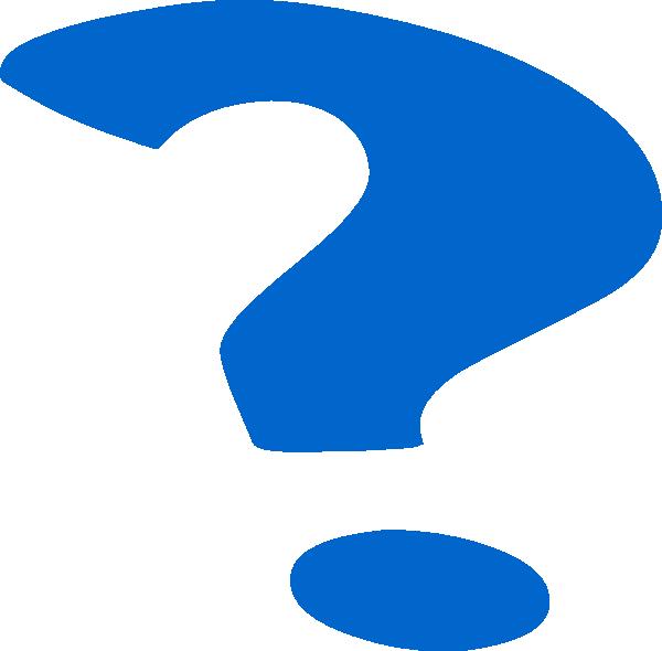 Clipart definition question. Blue mark clip art