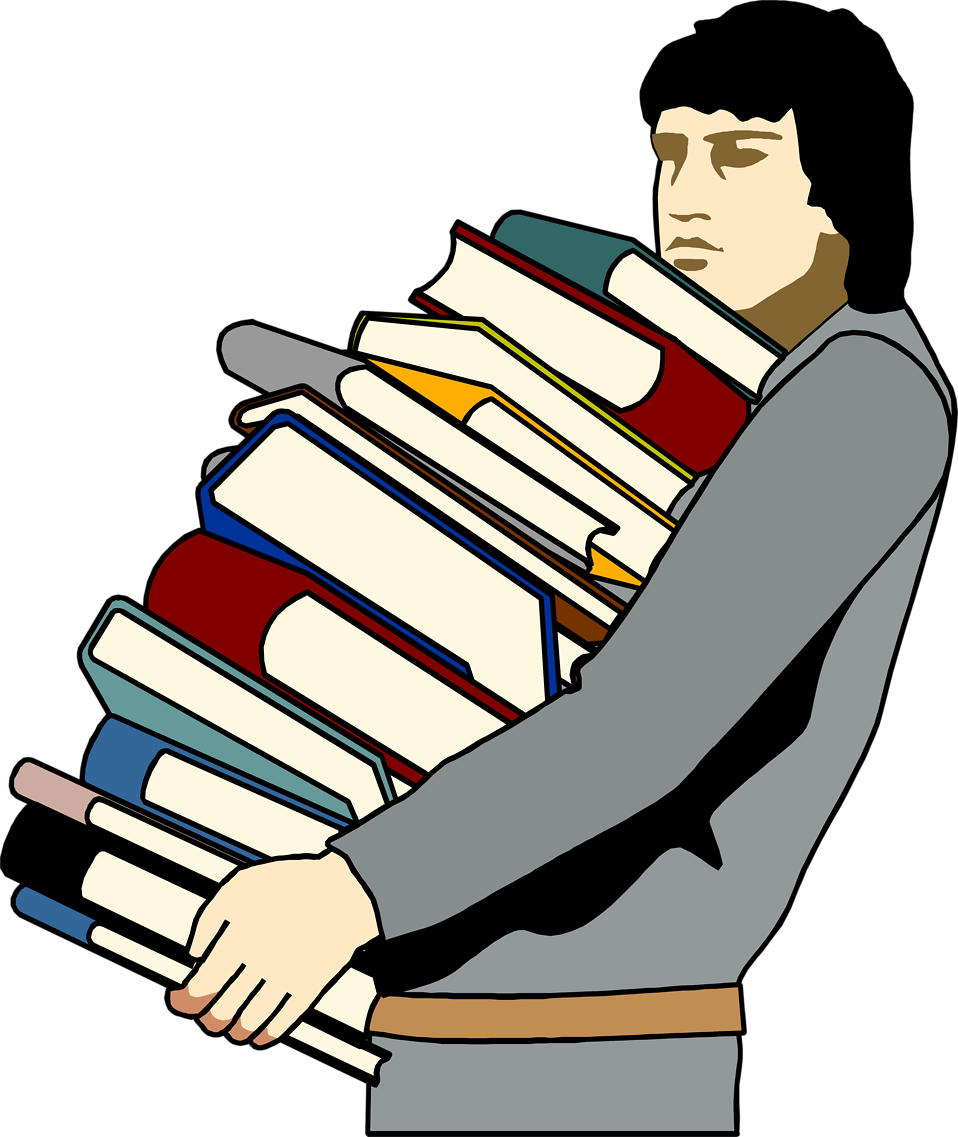 collection of student. Writer clipart man