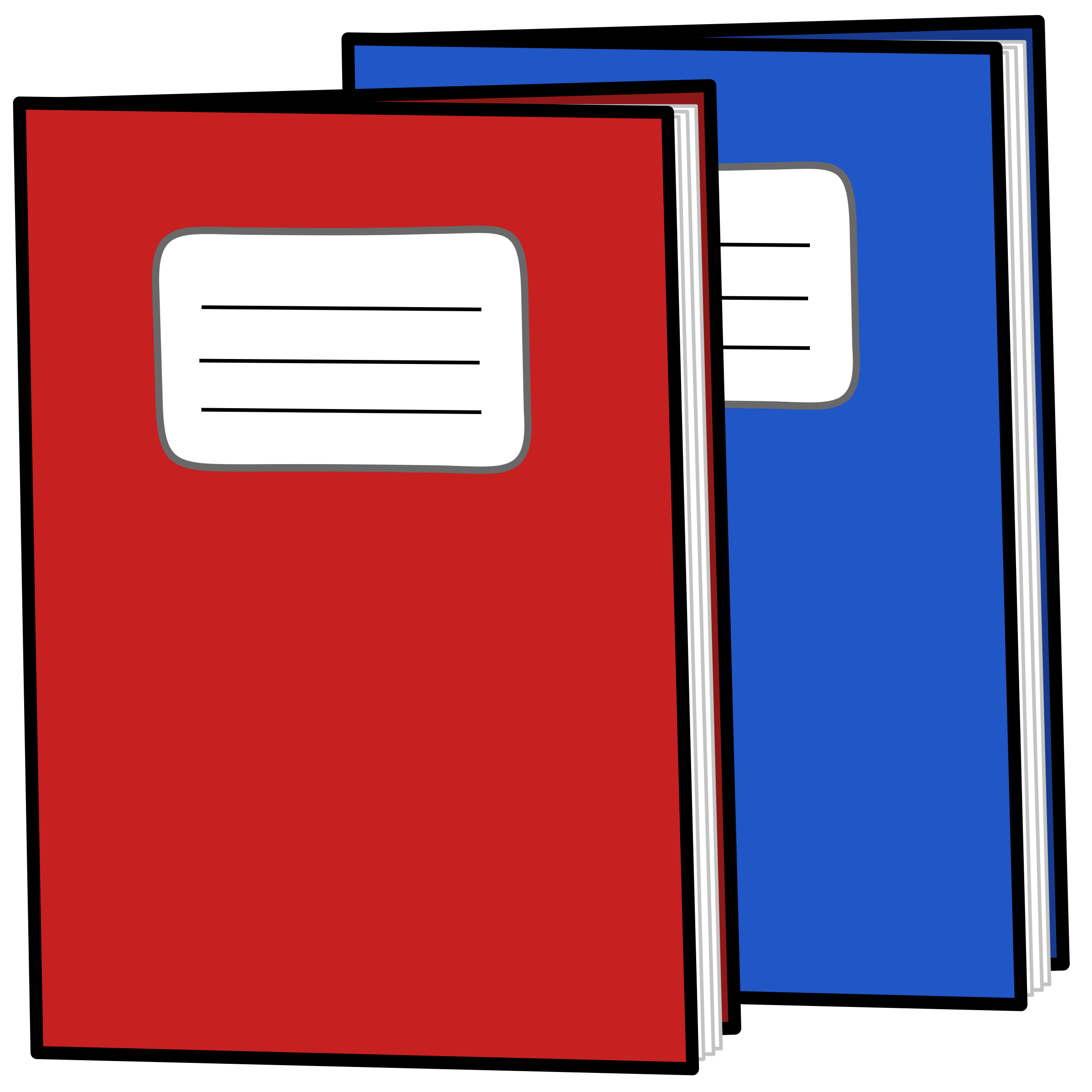 Exercise books icons png. Clipboard clipart attendance record