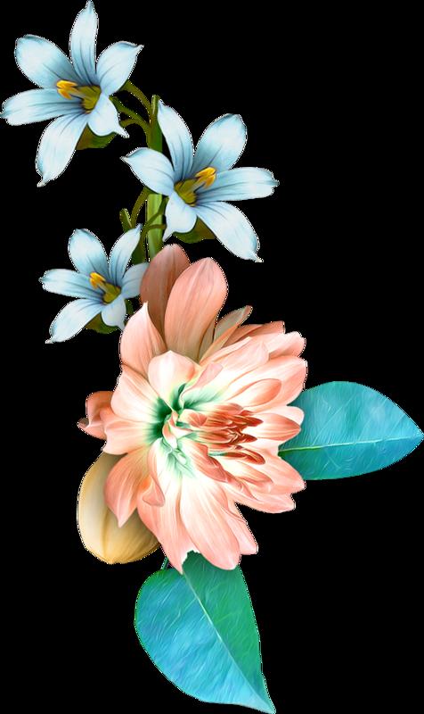 Tubes fleurs paintings pinterest. Clipart kite watercolor