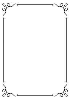 Clipart borders. Free printable clip art