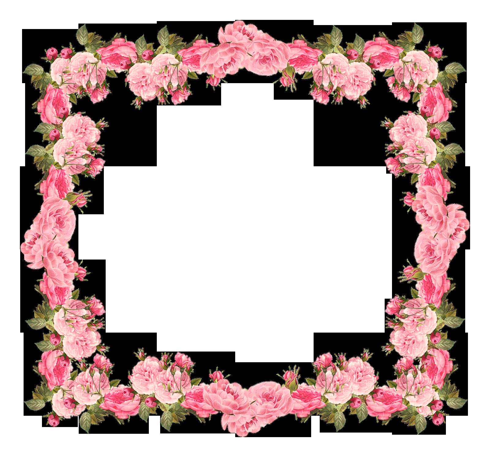 Wedding invitation flower clip. Clipart borders baby shower