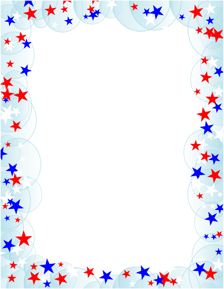 Voting clipart border. Free american flag page