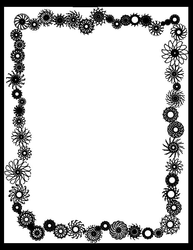 Clipart camera borders. Frame clip art black