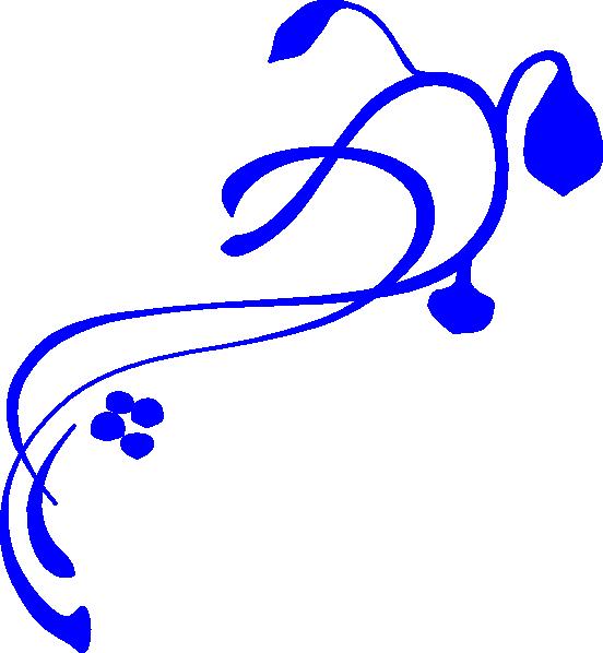 Magic clipart swirly line. Blue border panda free