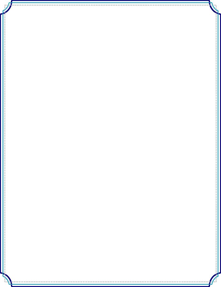 Blue clipart borders. Free border download clip
