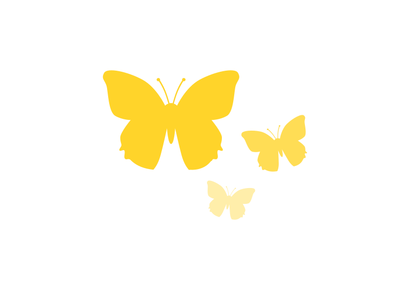 Butterfly outline at getdrawings. Fair clipart border