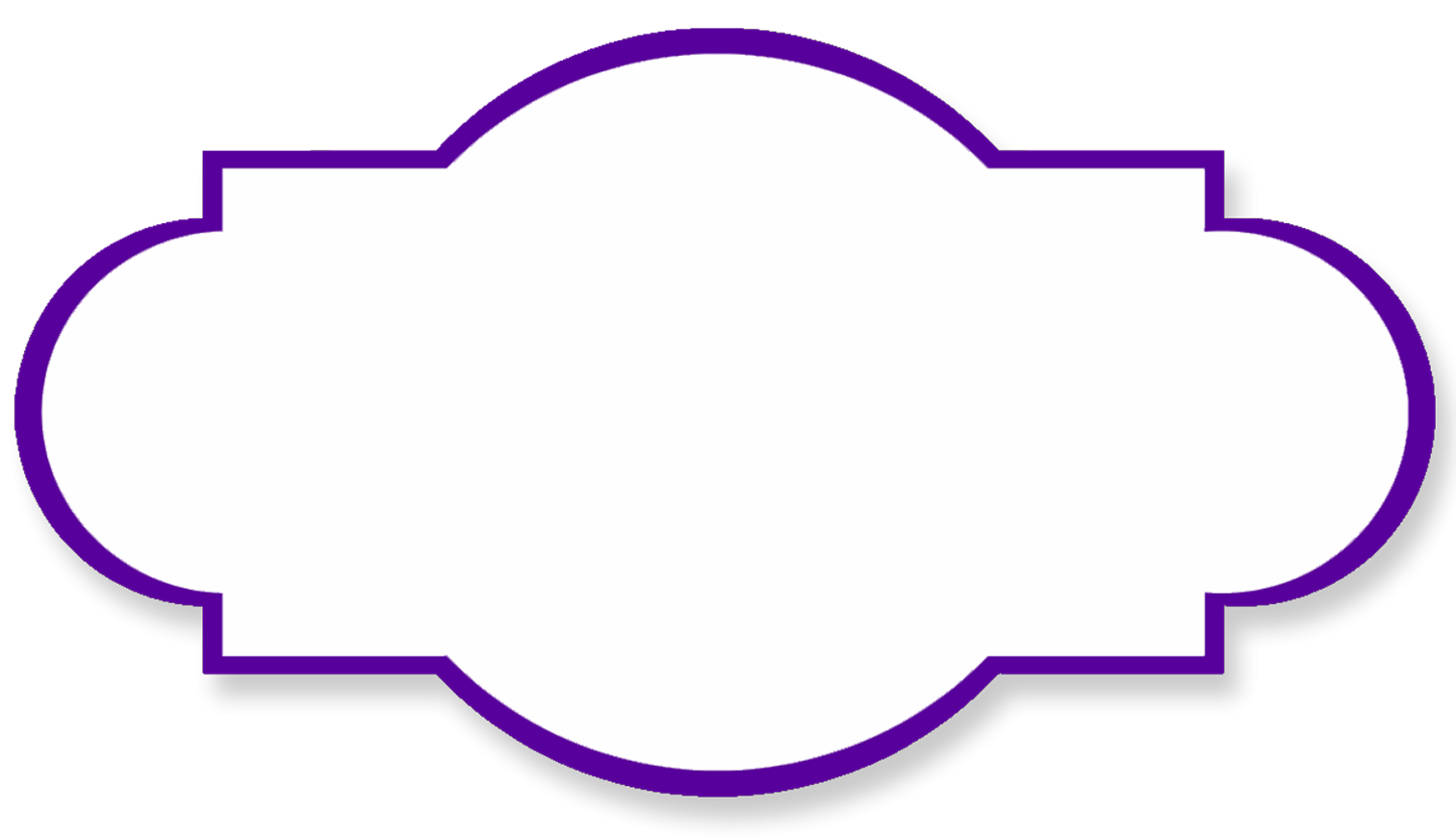 Funeral clipart borders. Purple butterfly border panda