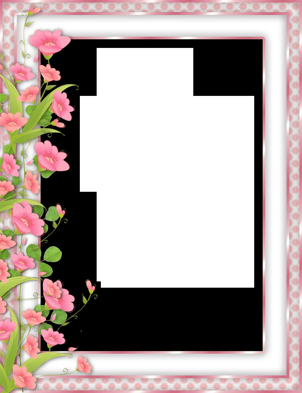 Pink transparent png frame. Clipart border cake