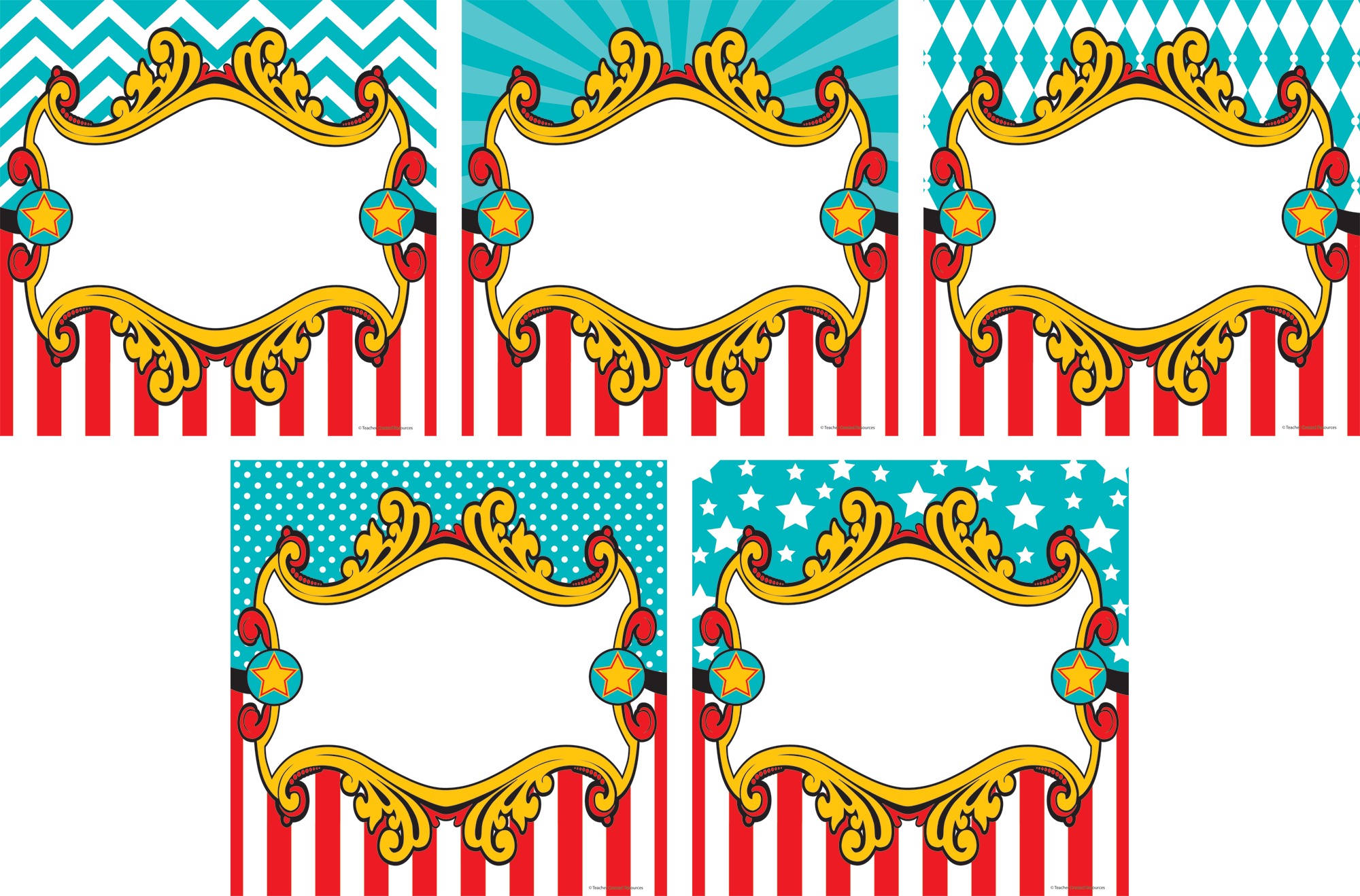 Clipart border carnival. Circus education classroom clip