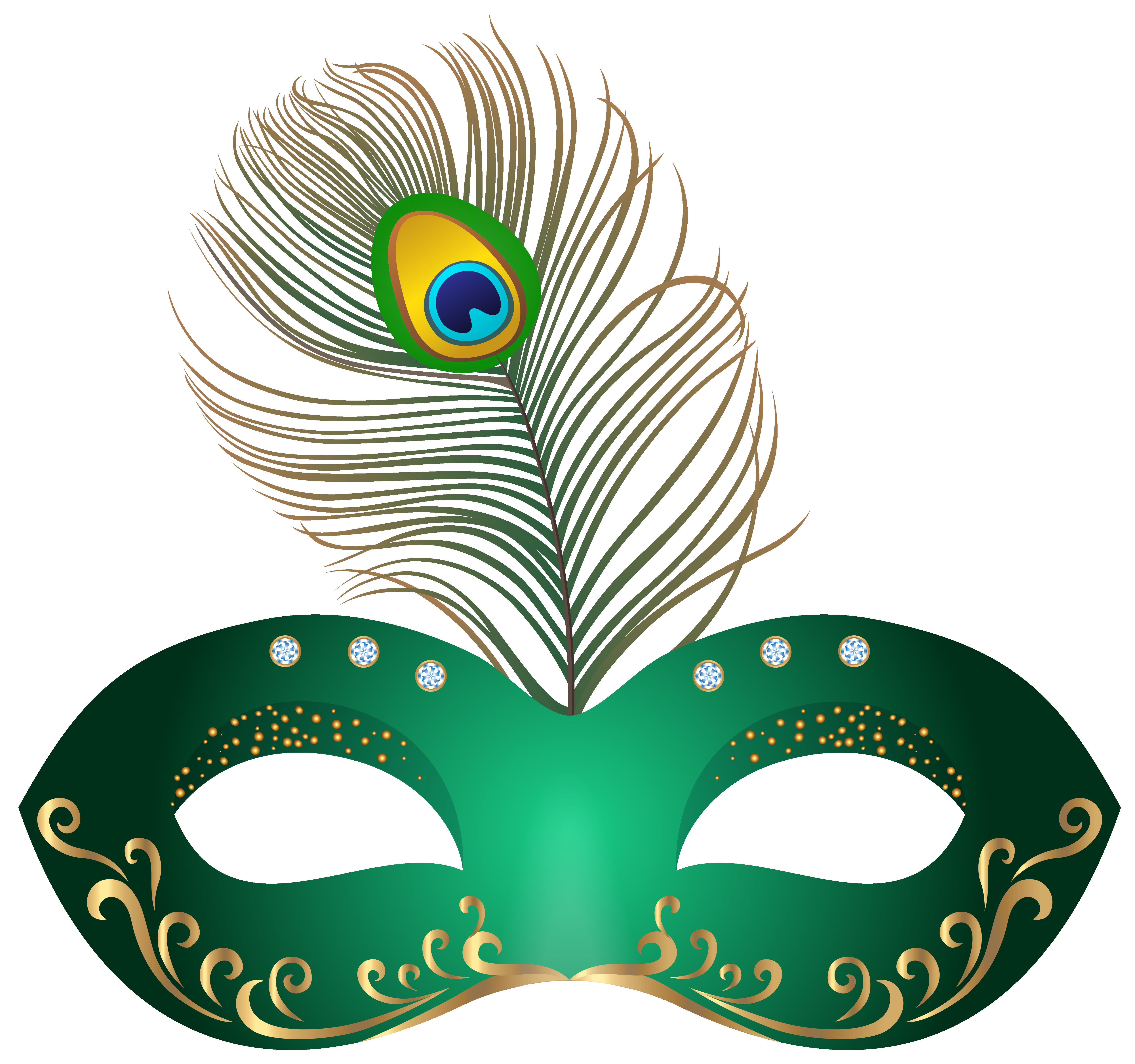Nacho clipart carnival. Green mask png clip