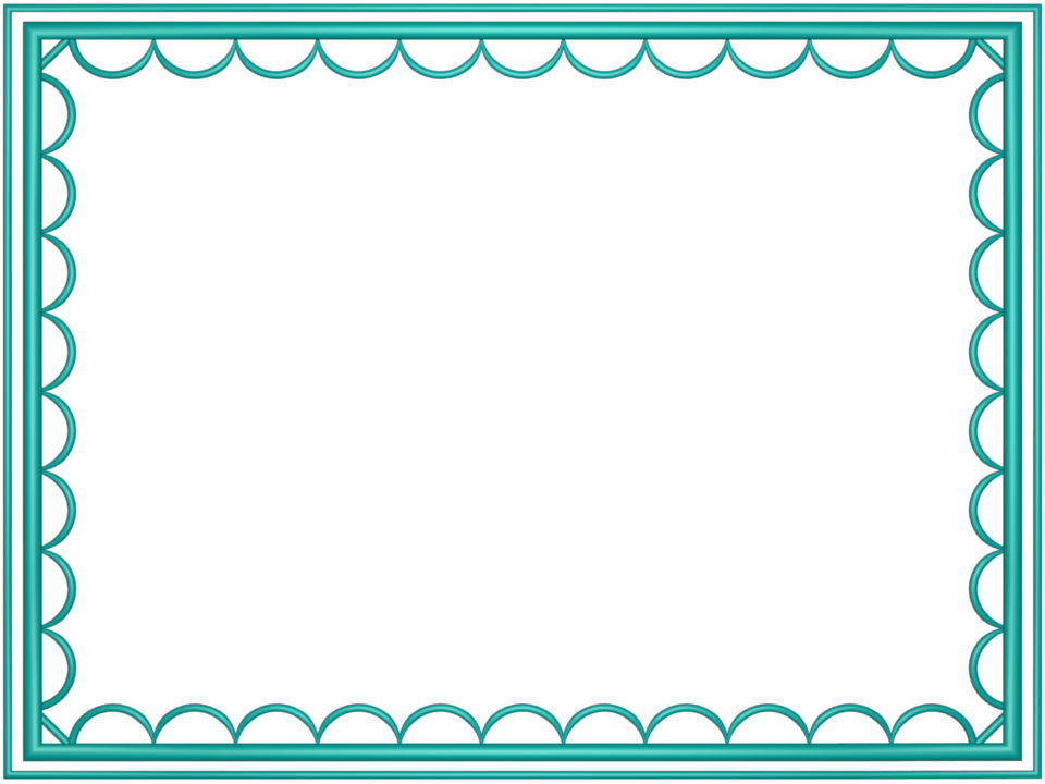 Clipart frames teal. Images borders group outer