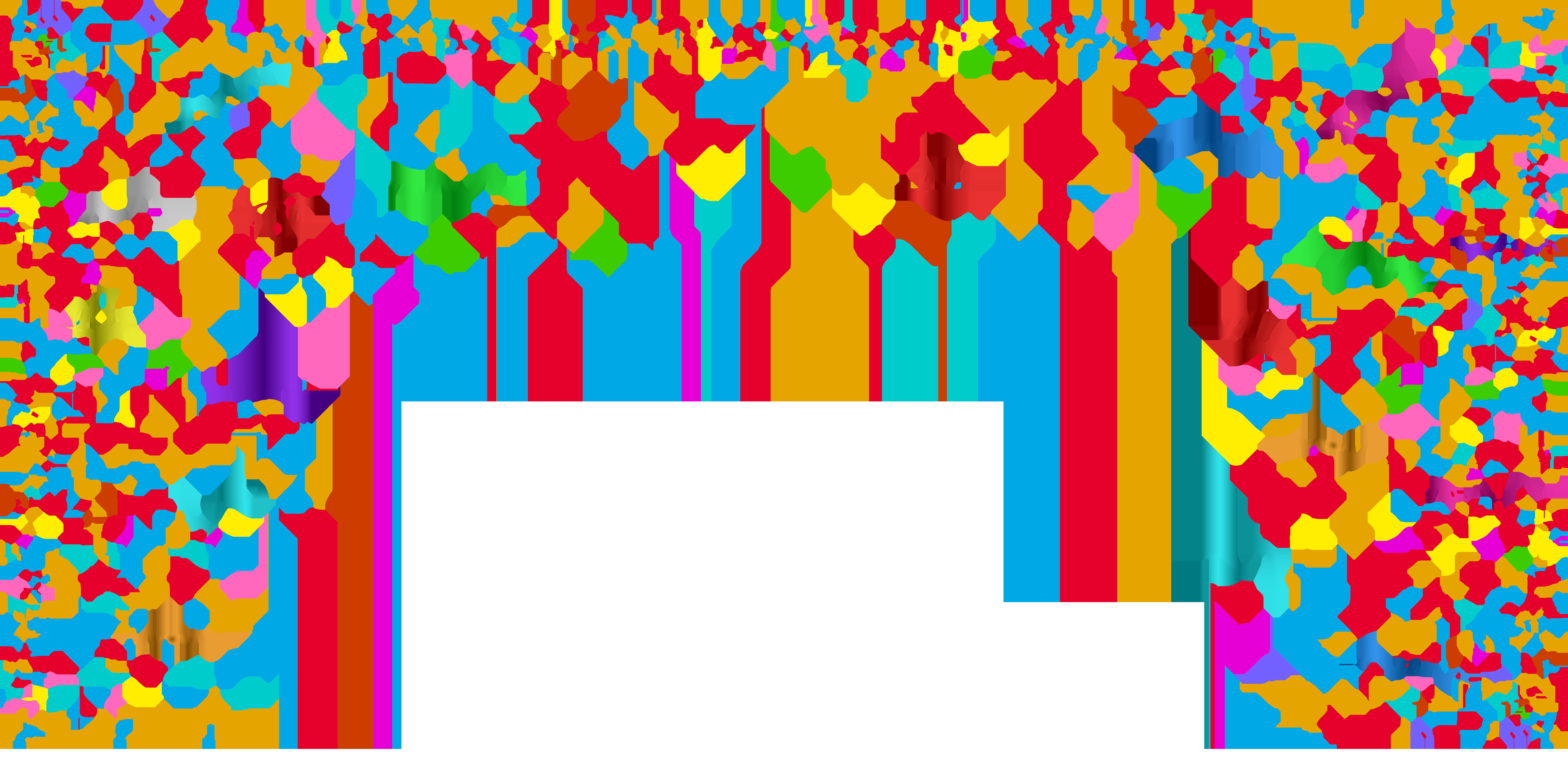 Transparent png clip art. Clipart border confetti