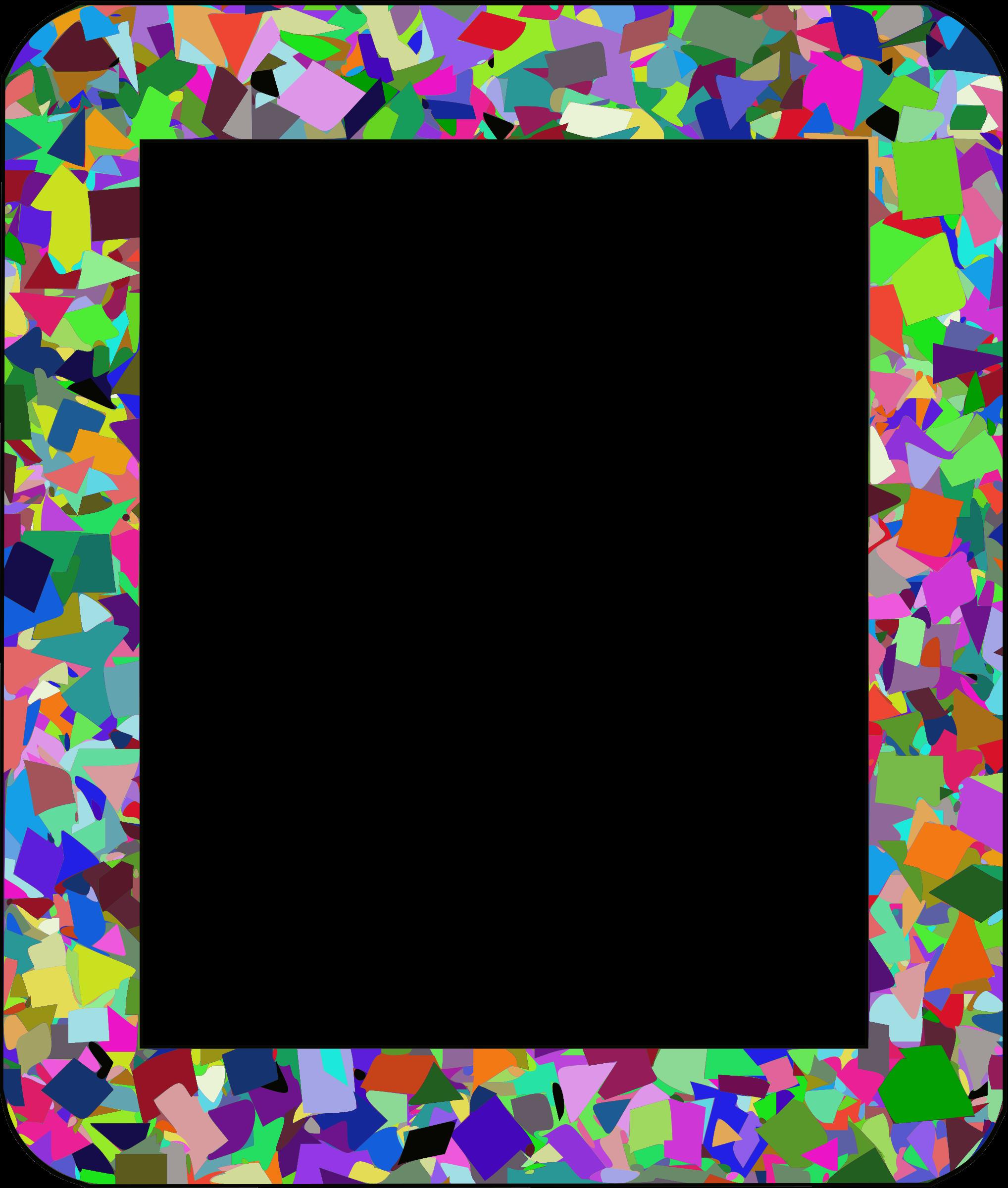 Clipart border confetti. Frame big image png
