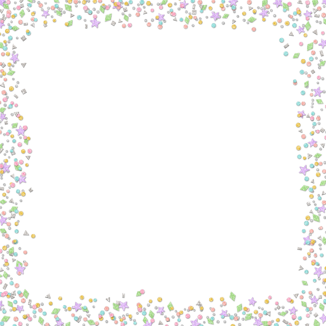 Clipart border confetti. Pin by isabelle aufeuve