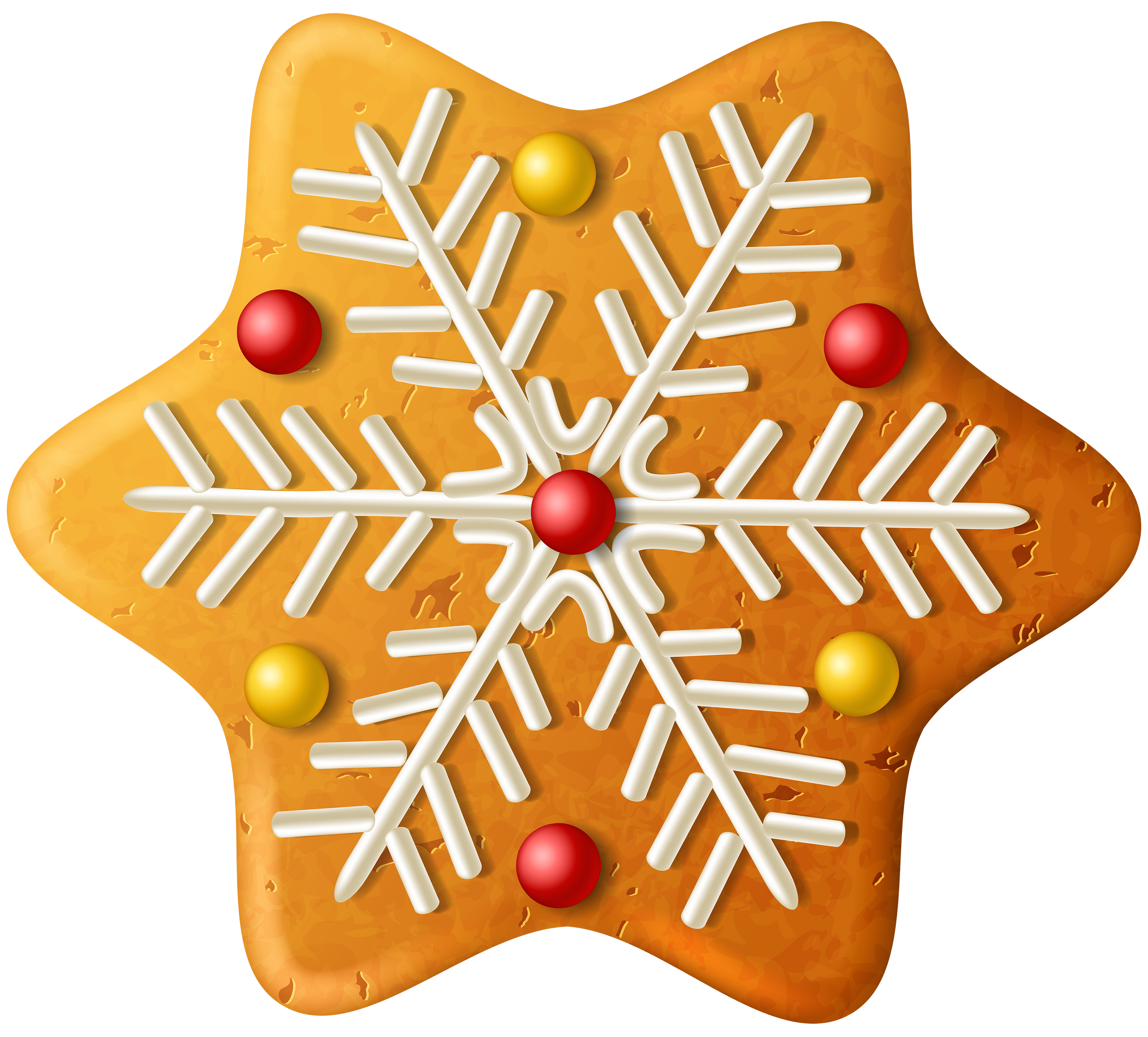 Snowflake png image gallery. Clipart christmas sugar cookie