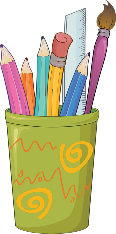 Stylos page and border. Crayons clipart picture frame