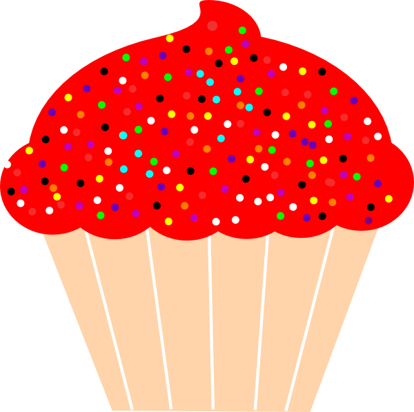 Clip art at clker. Clipart cupcake boarder