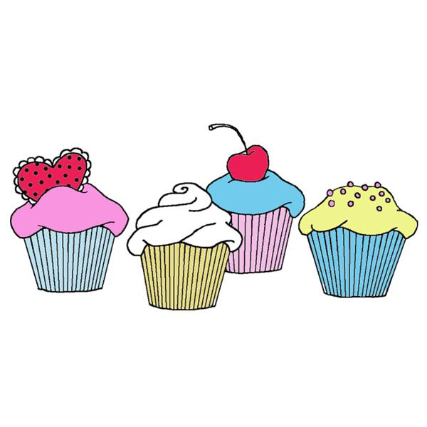 Clipart cupcake borders. Download cup cake border