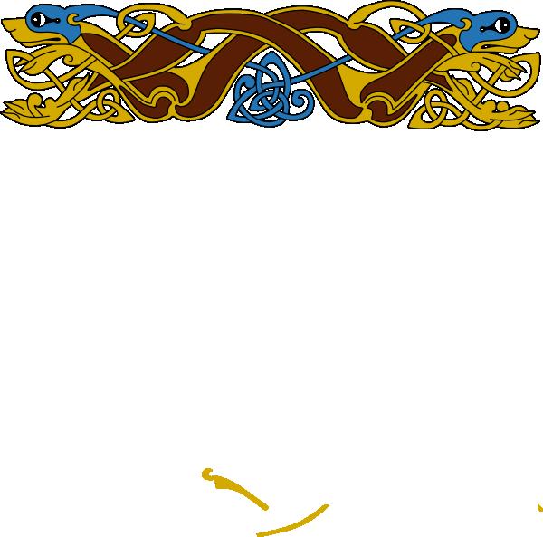 Celtic border clip art. Clipart borders design