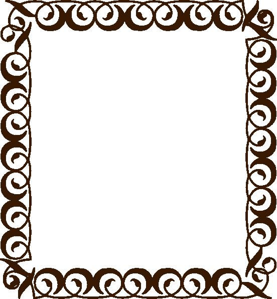 frame clipart chocolate
