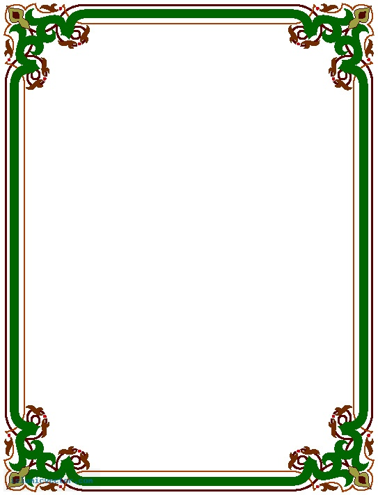 Free images of borders. Clipart border design