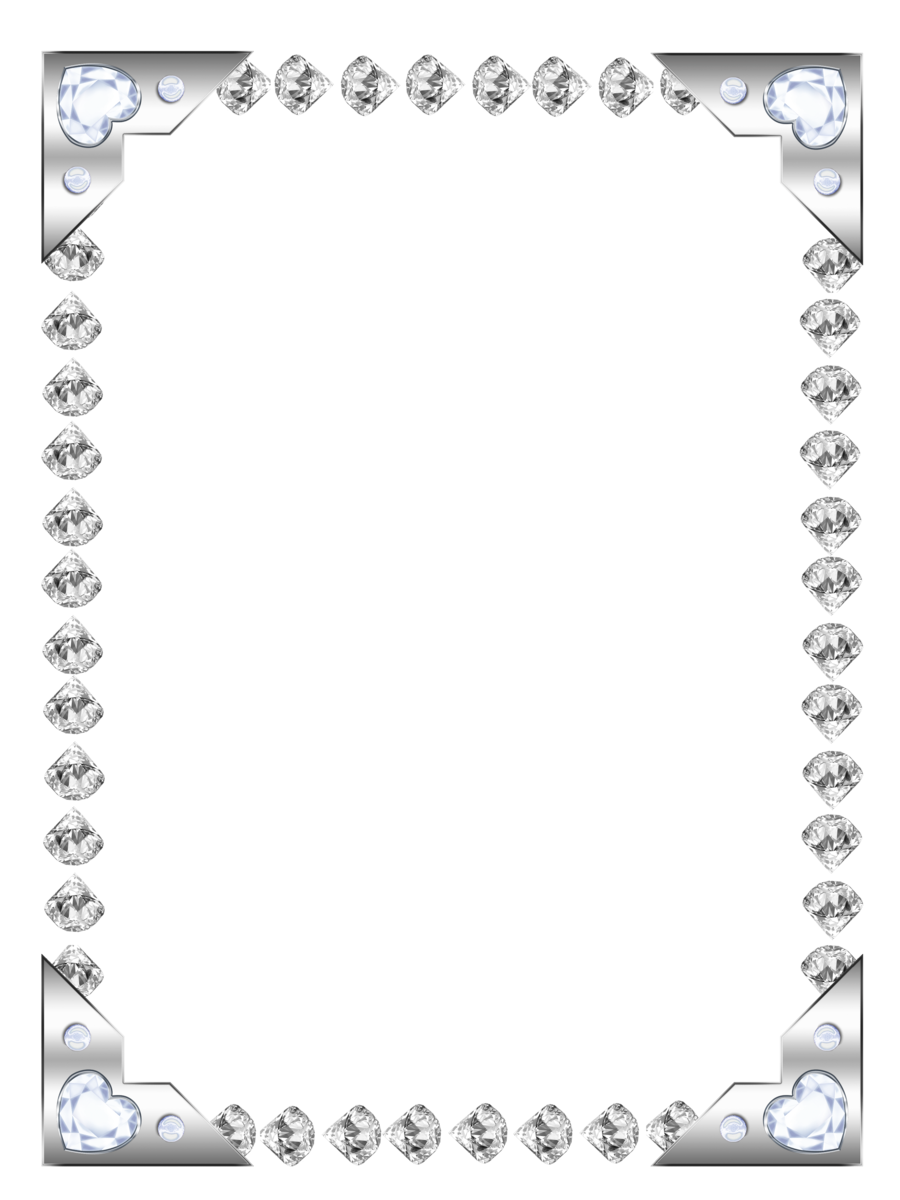 Diamond clipart borders. Border png collections at