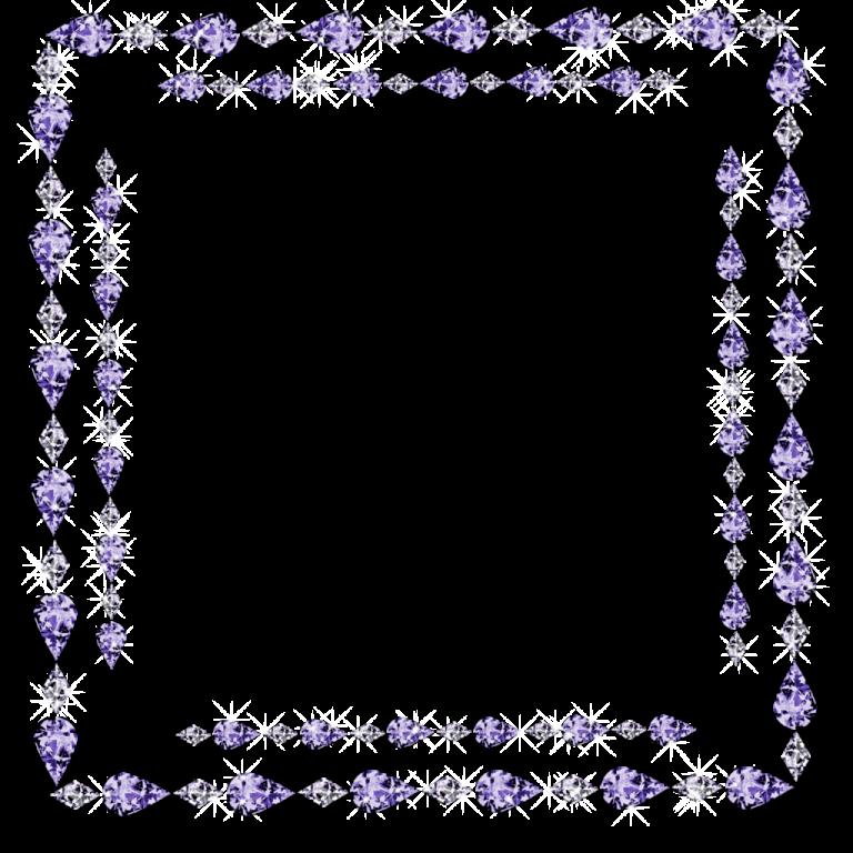 Clipart diamond banner. Border bling clip art