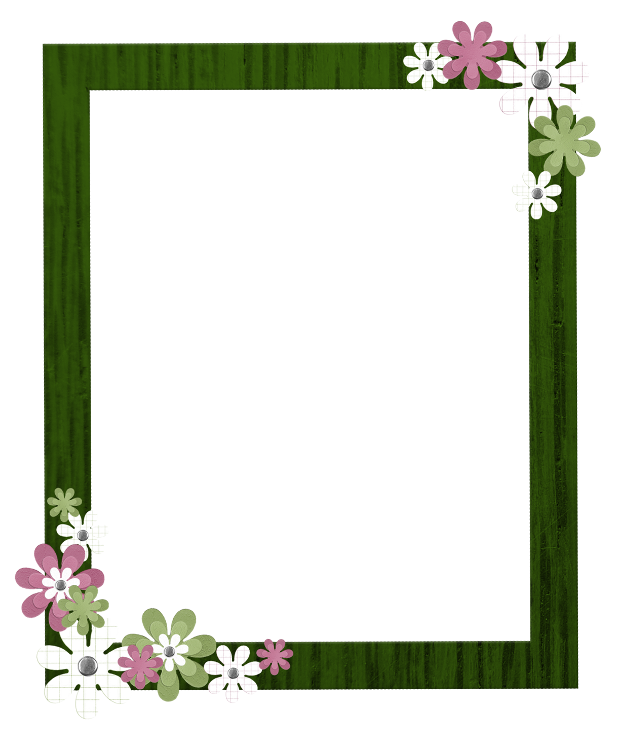 Border clipart mart. Green frame png