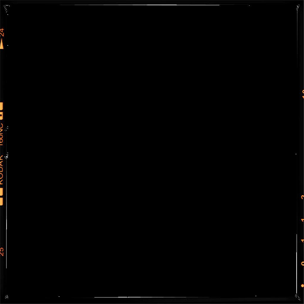 Filmframe frame kodak vintage. Clipart border film