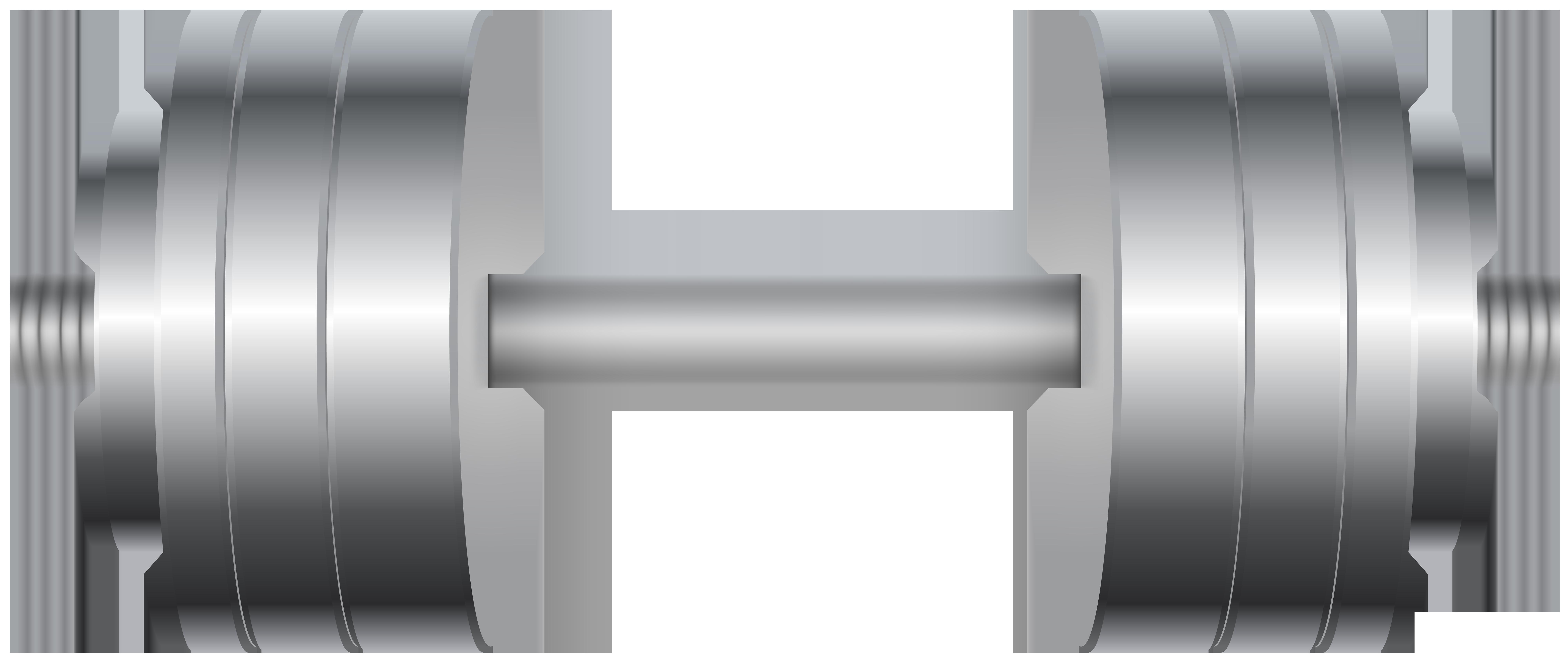 Gym png clip art. White clipart dumbbell