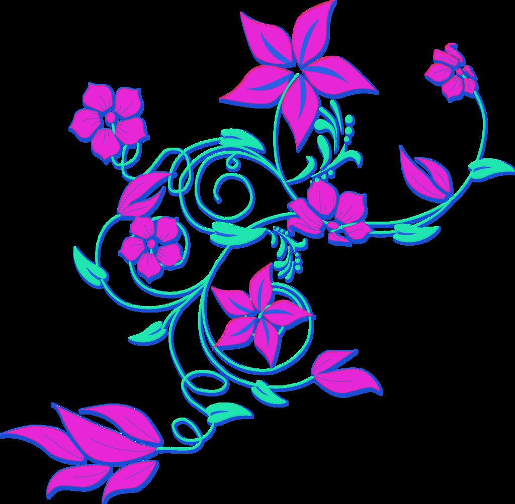 Flower border png clipartsgram. Pear clipart lukisan