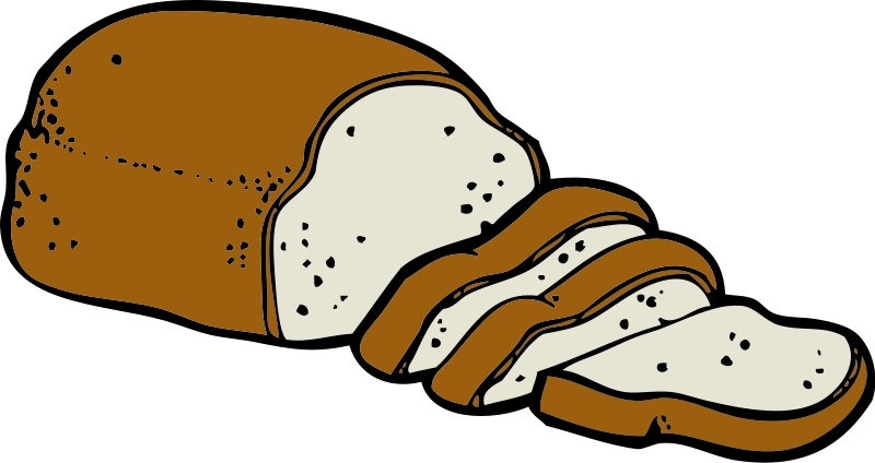 clipart bread animated
