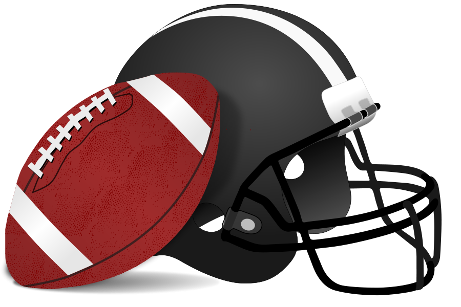 collection of high. Football clipart pizza
