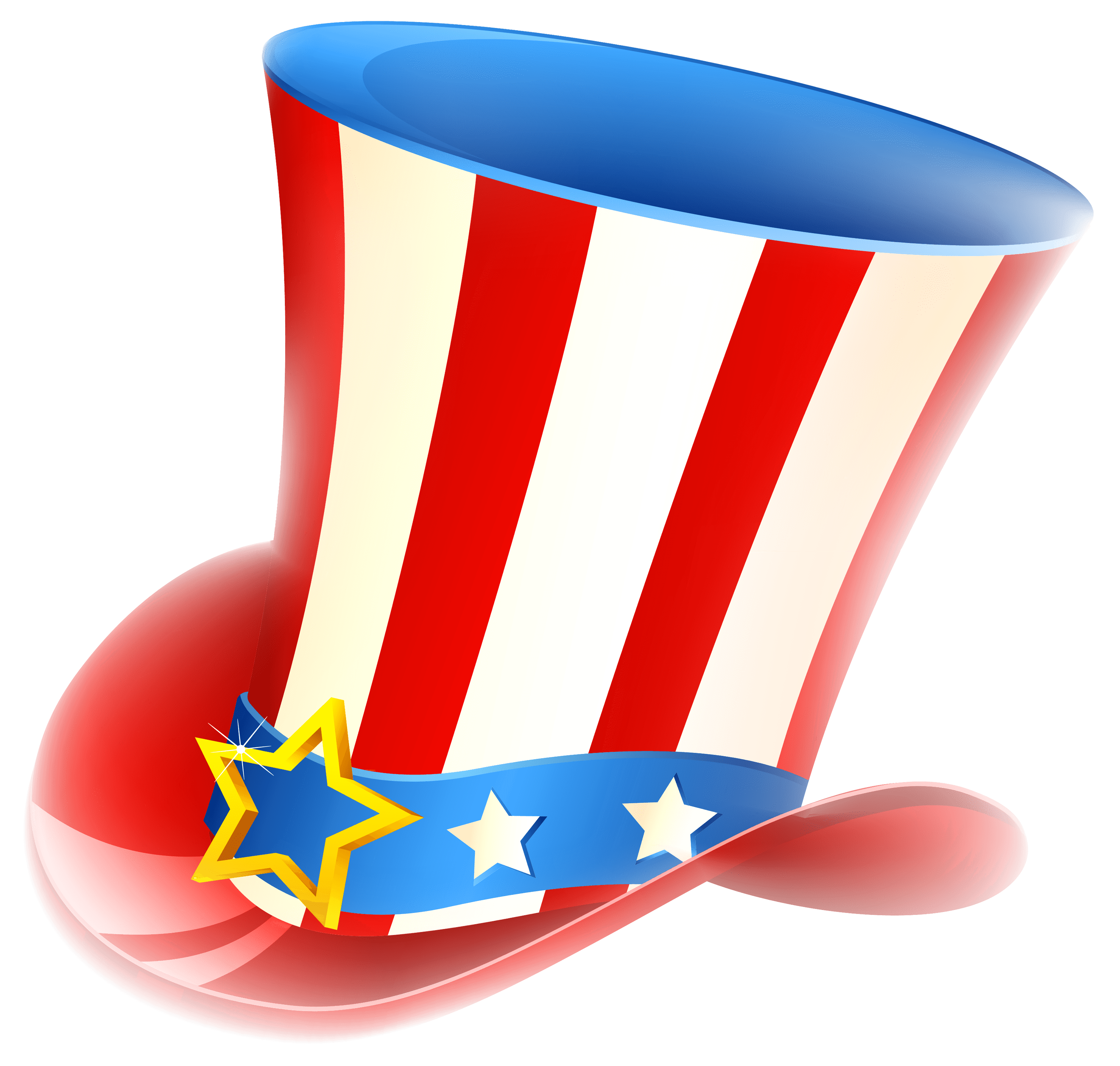 Happy fourth of uncle. Hats clipart 4th july