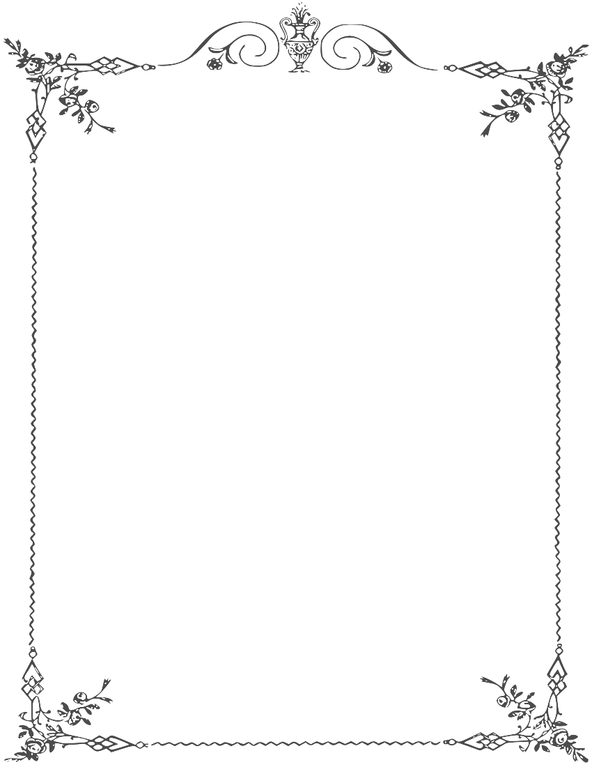 White border png. Frame clipart mart