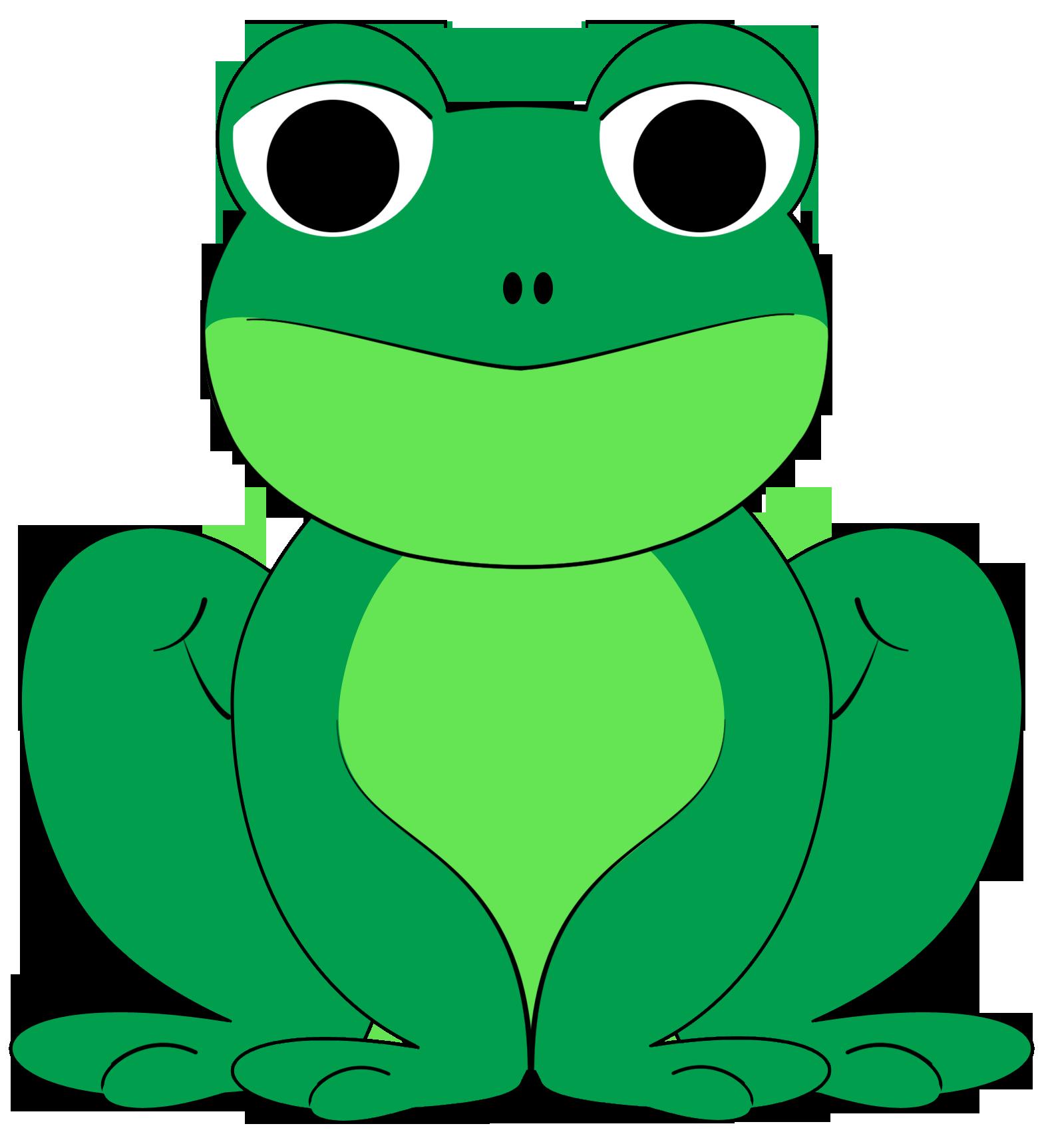Clipartix. Kiss clipart frog
