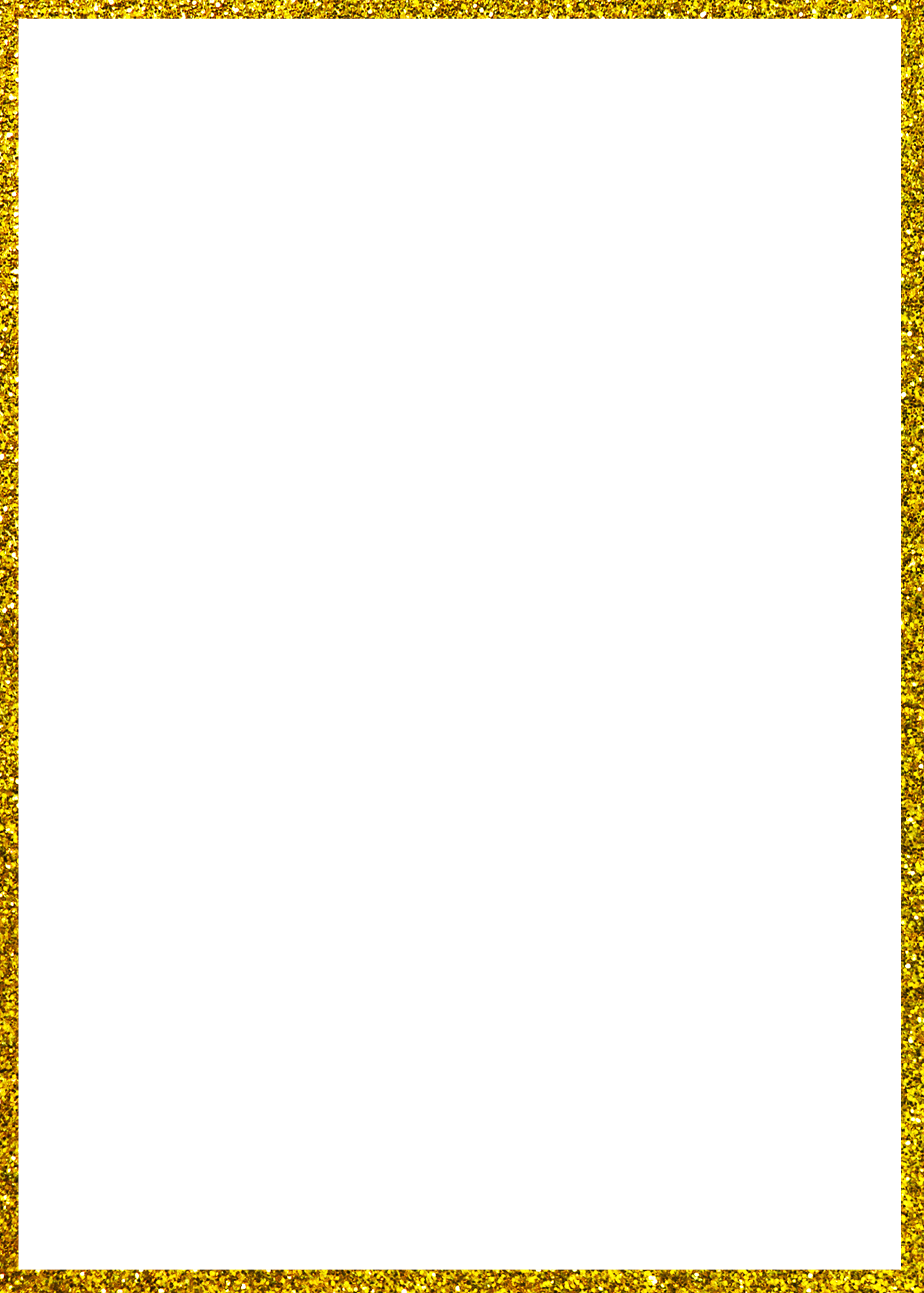 Pbl border rectangle diy. Gold glitter frame png