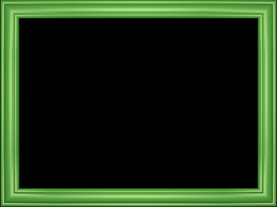 Design elegant embossed frame. Green border png