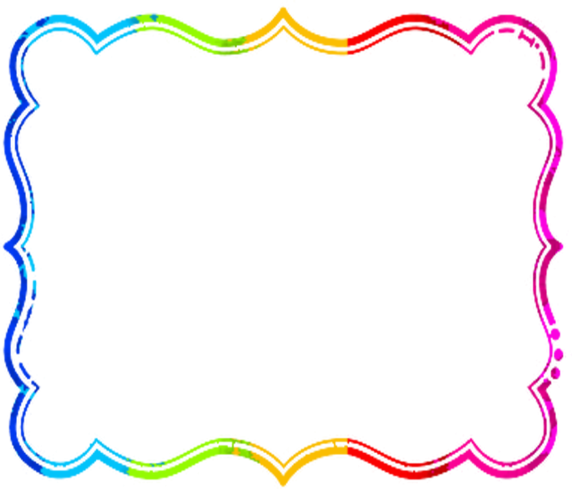 Crayon clipart picture frame. Best school borders frames
