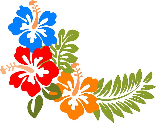 Hawaiian clipart hawaiian floral. Imagem relacionada lanna pinterest