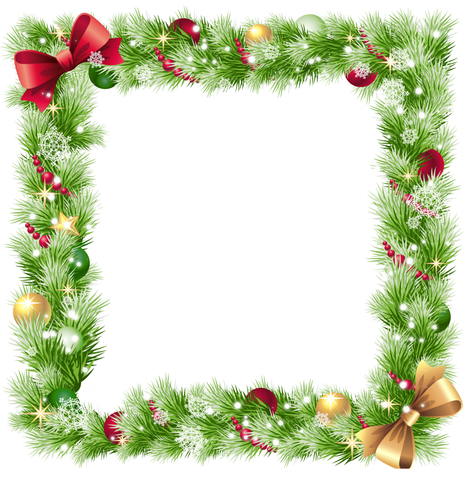 Holiday border png. Stunning photo frames candy