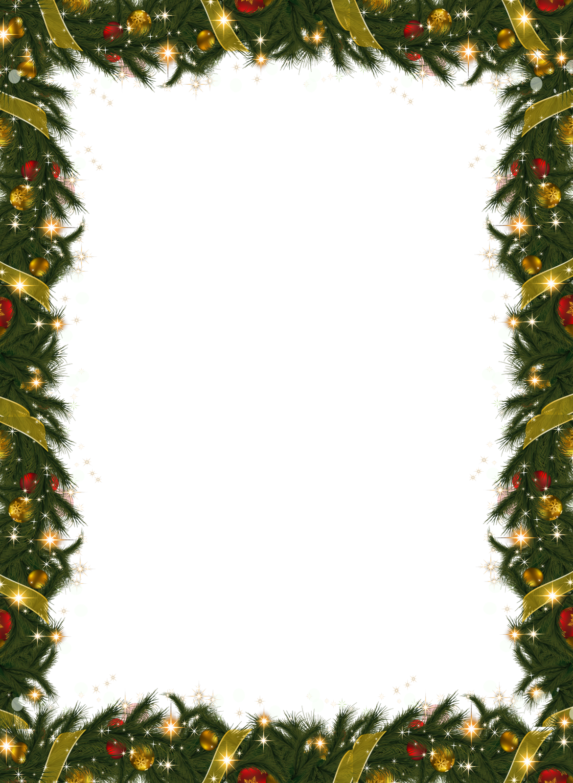 Christmas holiday frame with. Environment clipart border
