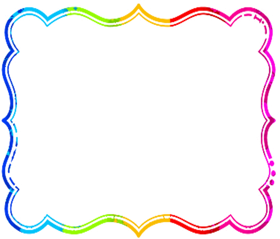 collection of cute. Colorful border png