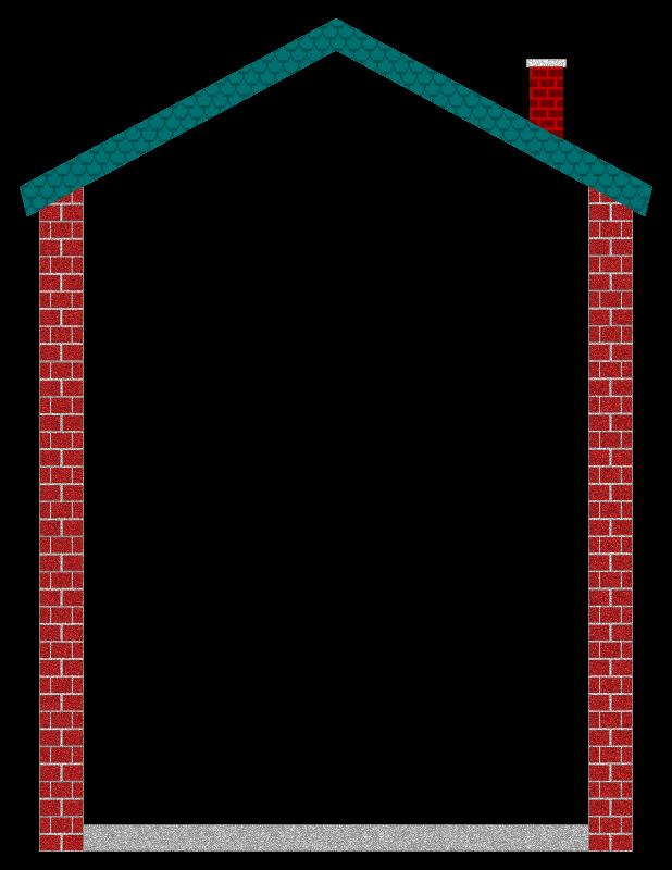 House clipart borders. Border medium image png