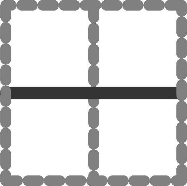 Clipart border horizontal. Inside icon clip art