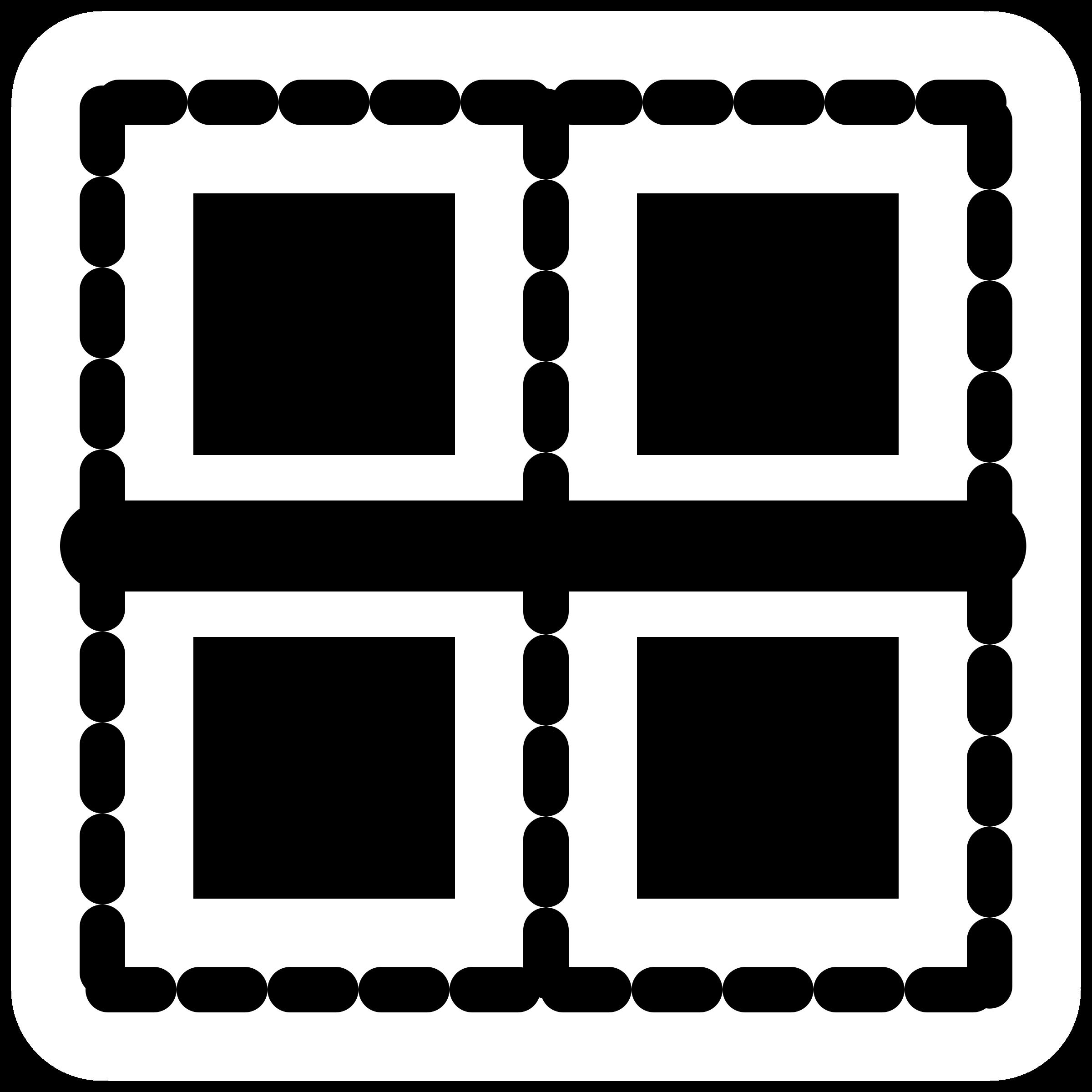 Clipart border horizontal. Mono big image png