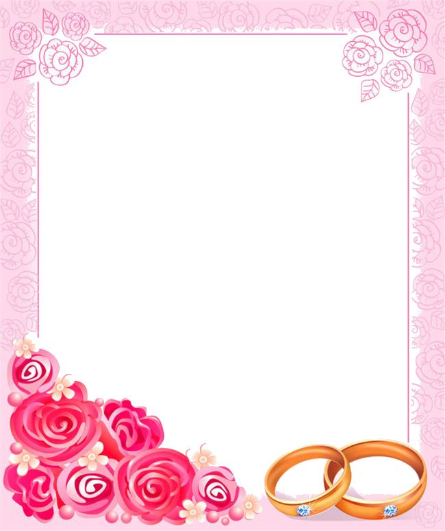 Watermelon clipart border. Wedding invitation picture frame