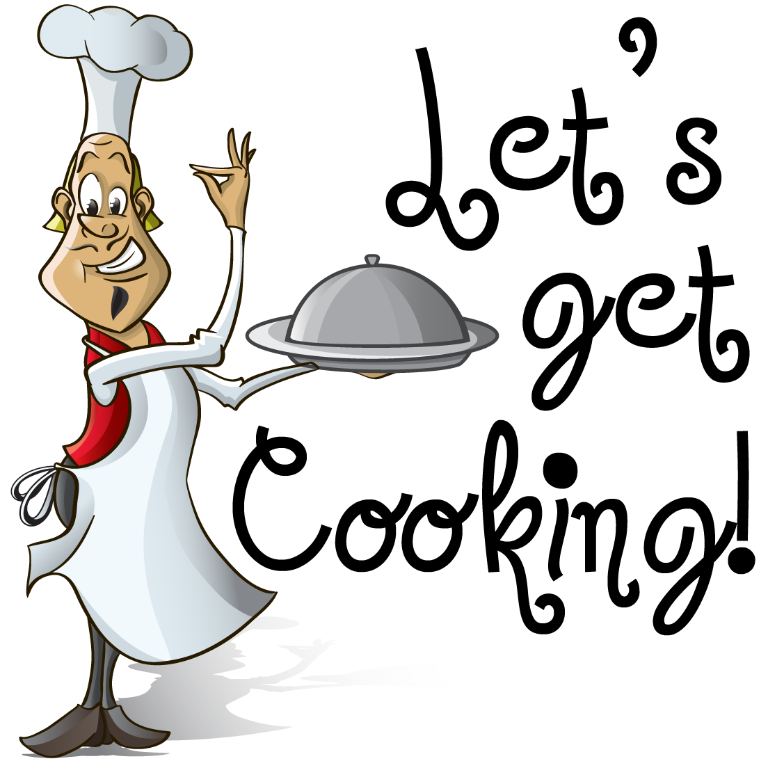 Make clipart cooking.  collection of images